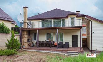Дачный дом 6х6 балконом и террасой, проекты и цены